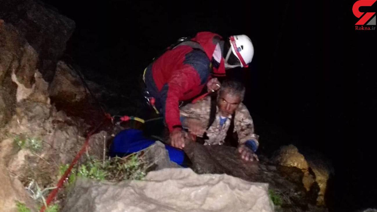عملیات نفسگیر برای نجات مفقودشدگان در ارتفاعات برف ریز