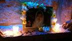 شام غریبان آتنا اصلانی درتبریز عزادار/مردم شمع روشن کردند + عکس