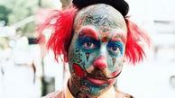 این آرایشگر عاشق دلقک بازی است! +عکس