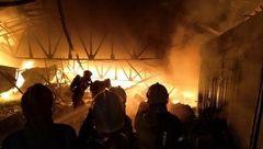 انفجارهای مهیب و آتش سوزی وحشتناک در مشهد+ عکس