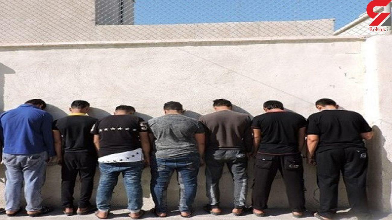 دستگیری اعضای باند سرقت خودرو در کرج