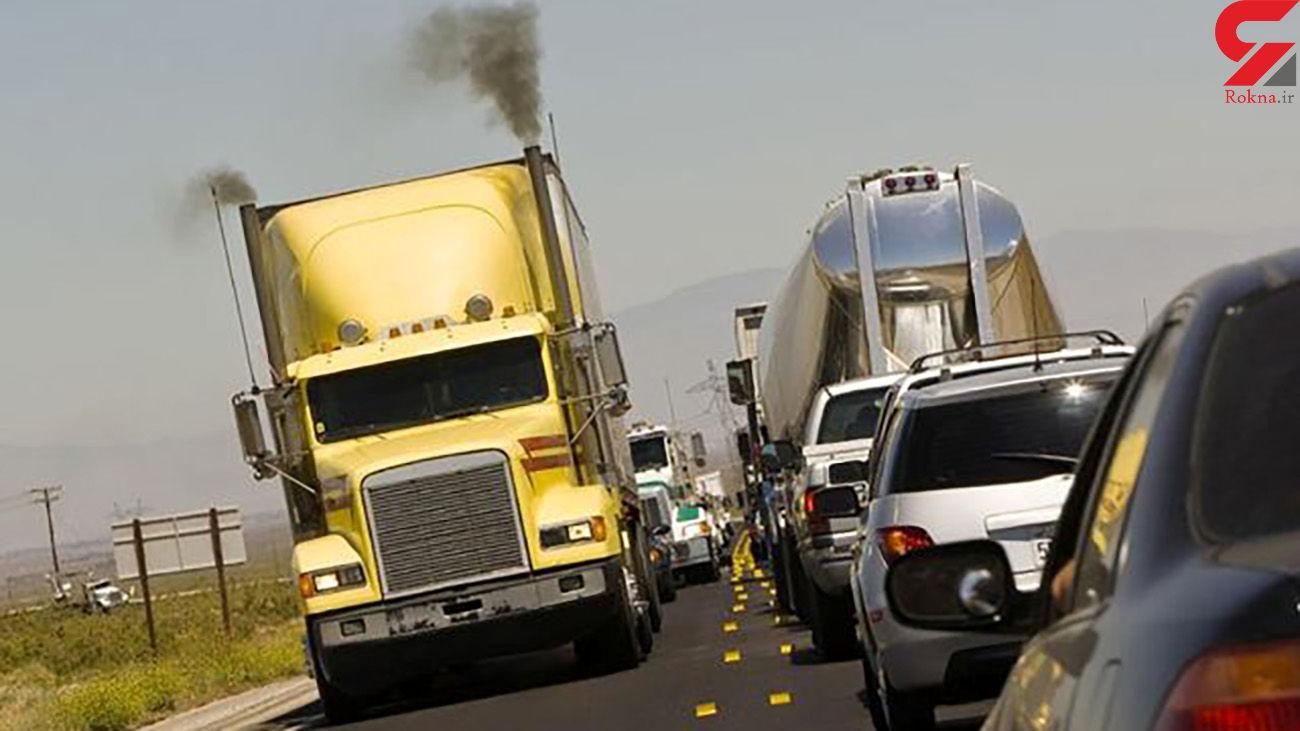 تردد کامیونهای آلاینده در پایتخت ممنوع شد!