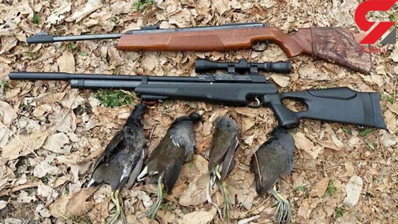 دستگیری 46 شکارچی در مازندران