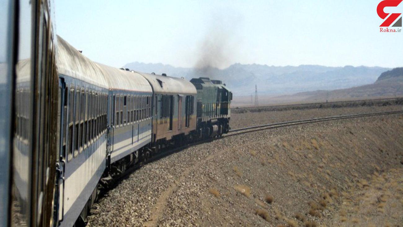 قطار شیراز _ تهران 25 راس گوسفند را له کرد