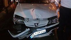 حمام خون راننده 18 ساله در صادقیه تهران!