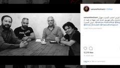 عکسی از «مهران مدیری» در تمرین پیش از کنسرتش منتشر شد