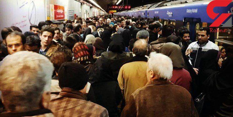 پشت پرده خودکشی صبح امروز در متروی تهران