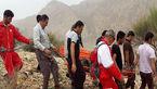 نجات مرد 47 ساله در کوهستان مرودشت + عکس