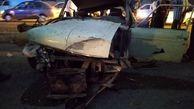 تصادف مرگبار تریلی با وانت پیکان / چهار کشته در جاده بروجرد