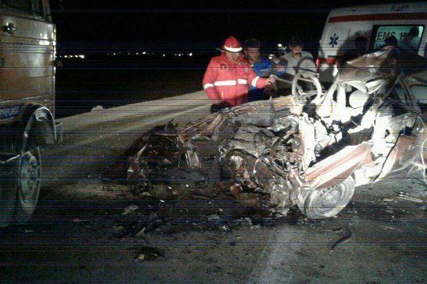 2 حادثه رانندگی در ایلام منجر به کشته شدن سه نفر شد