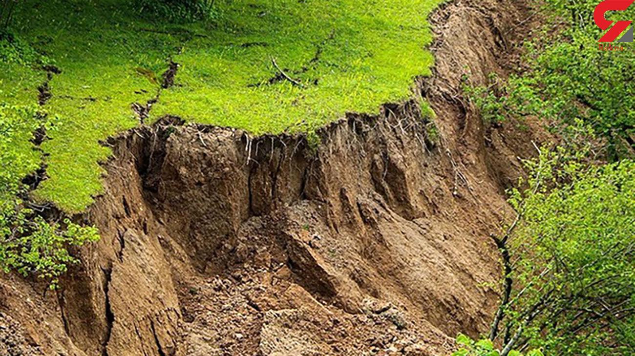5 عکس از رانش هولناک زمین در رودسر