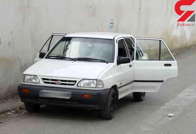 سرقت خودرو در صدرا و کشف در سپیدان