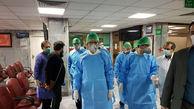 بازدید جهانگیری از بخش کرونای بیمارستان امام حسین (ع) + عکس