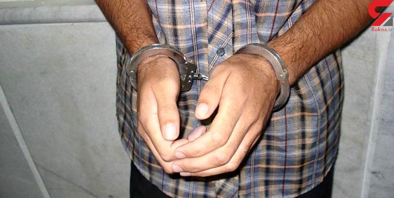 دستگیری سارق و 3 مالخر  لوازم خودرو در کاشمر