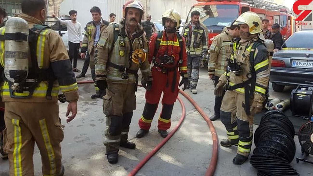 وحشت در محله مولوی تهران / 9 صبح صدای آژیرها بازار تهران را آشفته کرد + عکس
