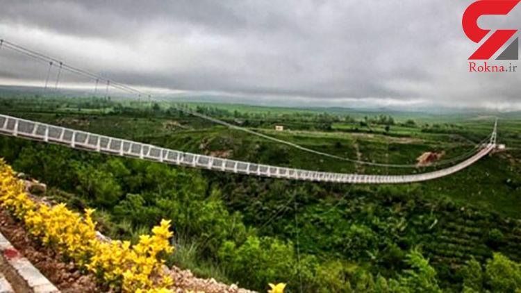 طراحی خلاقانه بلندترین پل راه آهن در اردبیل