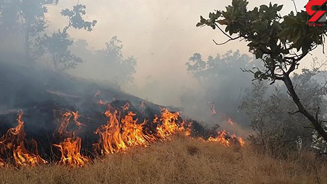 آتش سوزی این بار در ایوان