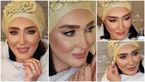 عکس های خیلی عجیب از بازیگر زن ایرانی که مدل شد!