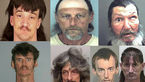 قاتلان مخوفی که عجیبترین چهرهها را دارند + عکس