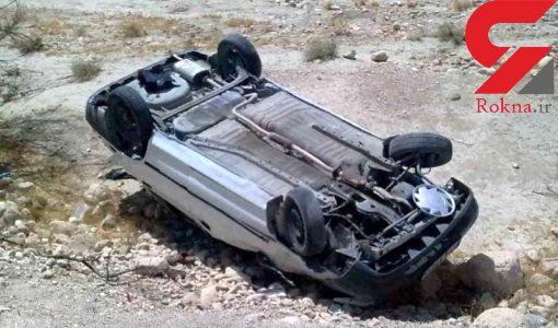 سرعت غیرمجاز مرگ دو سرنشین پژو در جاده شیراز