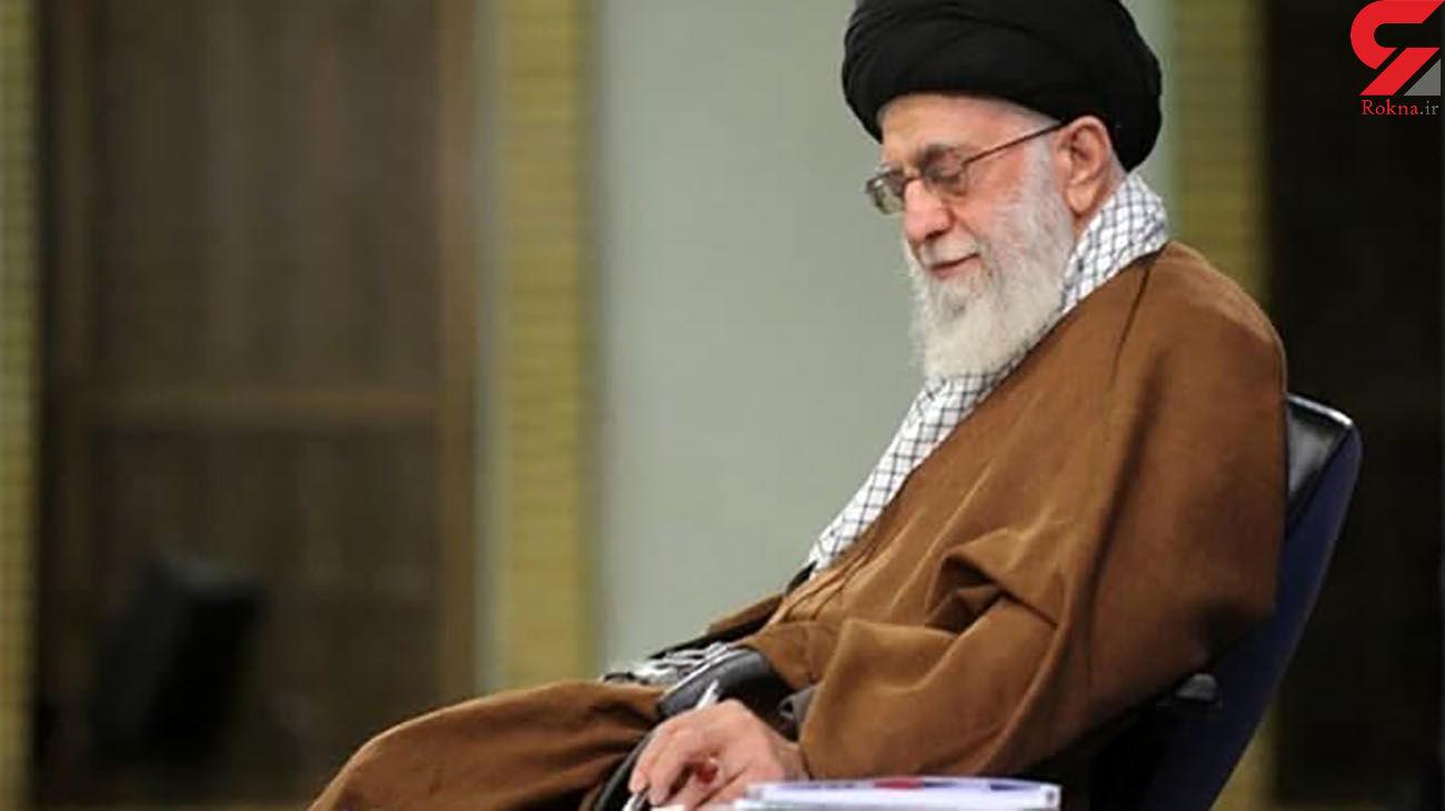 رهبر انقلاب : دلهای ما در صحنه مبارزات شما حاضر است؛ پیروز نهایی را خواهید دید