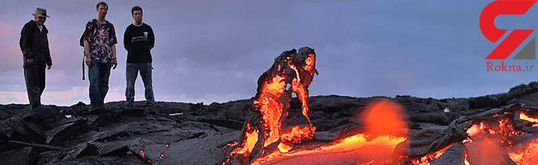 زیباترین آتشفشان های فعال دنیا
