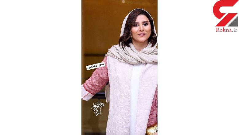 استایل متفاوت سحر دولتشاهی در یک مهمانی خصوصی + عکس