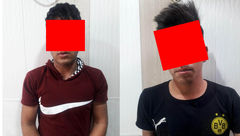 پایان دزدی های 2 نوجوان آبادانی + عکس