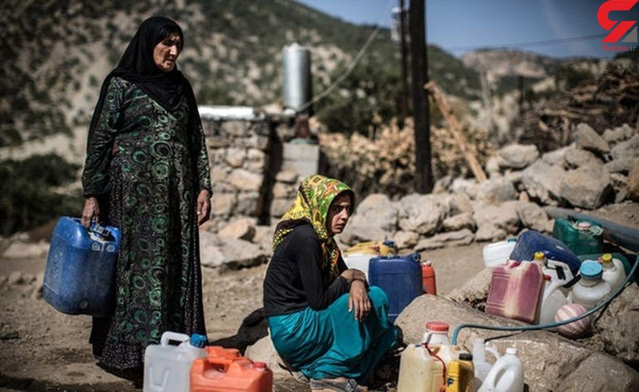 کولبری زنان برای تامین آب / کسی نمی داند بودجه کجا رفته است