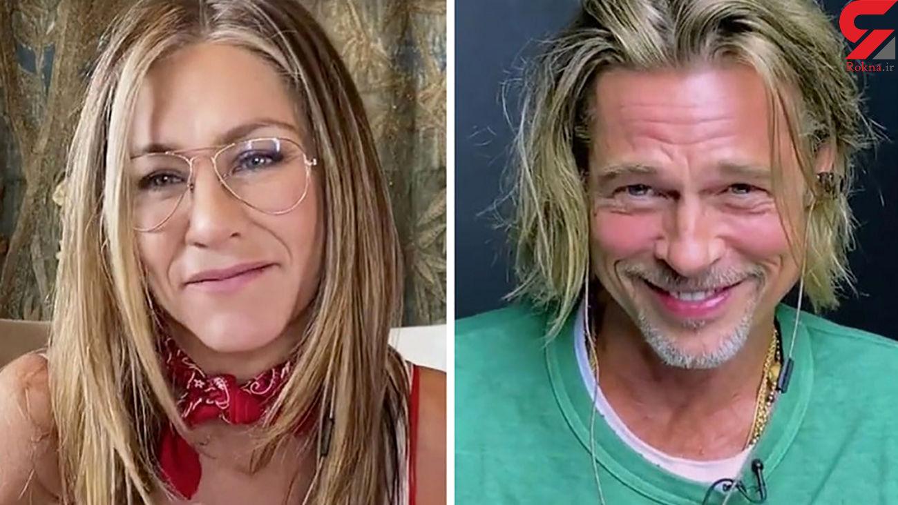رودررویی برد پیت و خانم چشم آبی بعد از سال ها طلاق