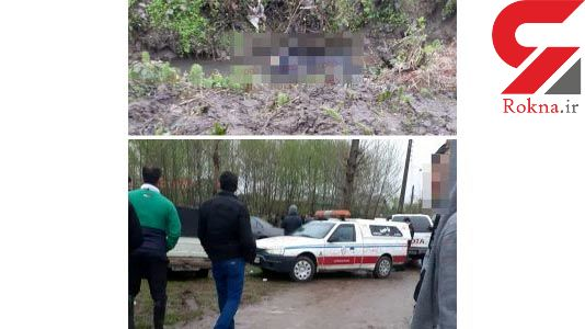 قاتل راننده آژانس گیلانی هنگام فرار راننده یک خودروی دیگر را به کشتن داد +عکس