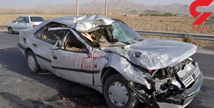 انفجار پژو رو به روی کوه صفه اصفهان 4 مصدوم 20 ساله داشت