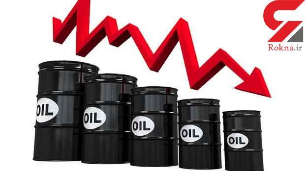 قیمت نفت خام سقوط کرد !