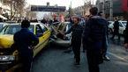 علت تصادف هولناک اتوبوس با 11 خودرو در کرج مشخص شد + فیلم و عکس
