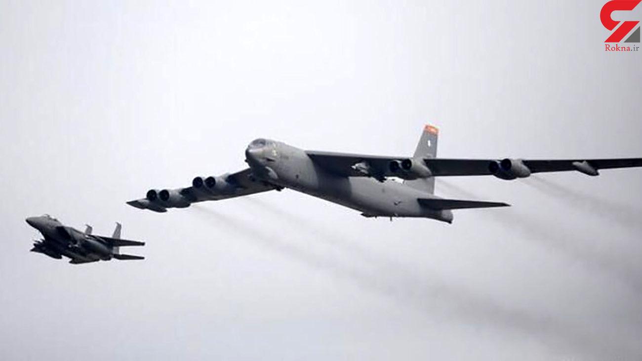 هدف پرواز دو بمبافکن آمریکایی روی خلیج فارس چیست؟