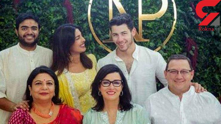 ازدواج خواننده پاپ با هنرپیشه مشهور هندی +عکس