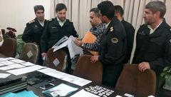 دستگیری عاملان جعل مدارک هویتی در کرمان
