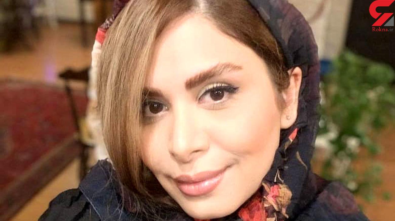 روسری خاص خانم مجری رفته از تلویزیون ! / نجمه جودکی کیست؟!  + عکس ها