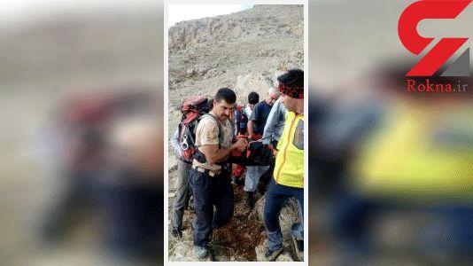 نجات جان کوهنورد بازنشسته دانشگاه علوم پزشکی کرمانشاه توسط اورژانس هوایی