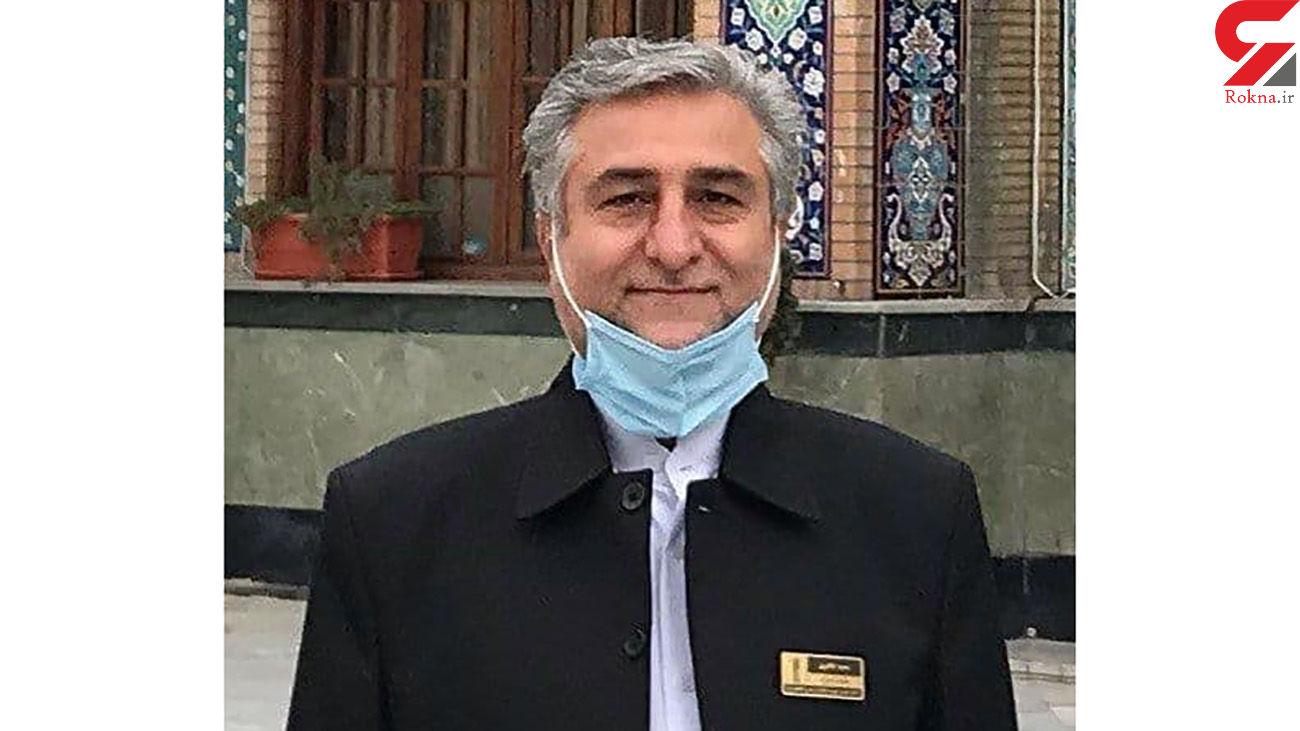 اولین عکس از مهندس طاهری که به قتل رسید / کارمند امام زاده صالح (ع) بود