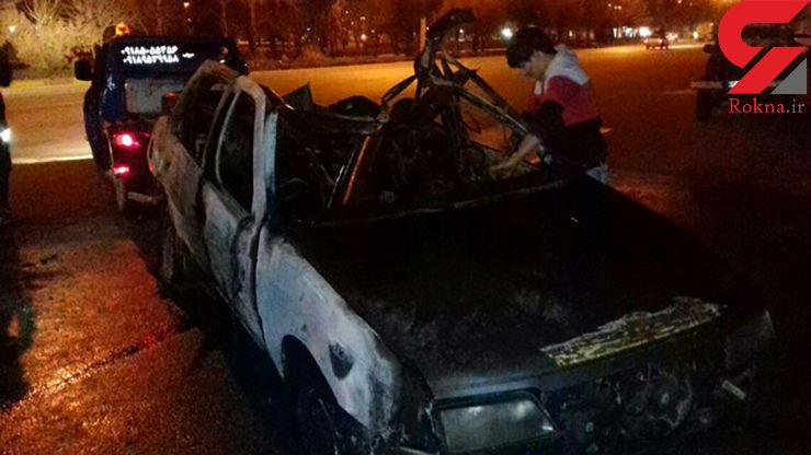 نشت گاز LPG حادثه ساز شد+عکس