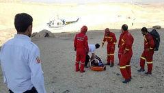 عکس جسد زن 24 ساله قمی که از بالای کوه دوبرادران سقوط کرد / او مرگ بدی داشت
