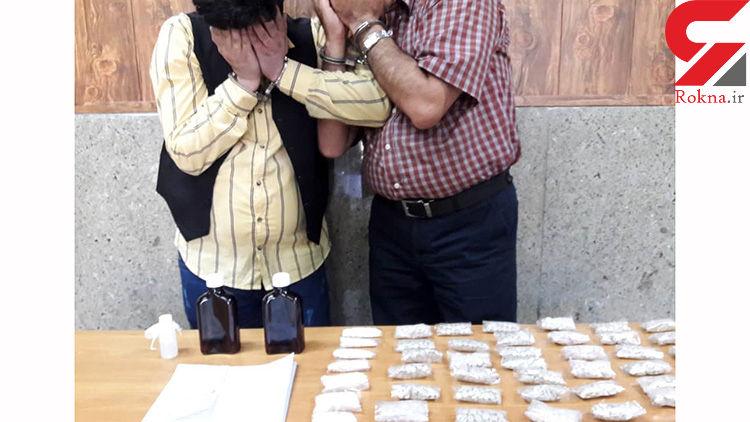دستگیری 2 خرده فروش مواد مخدر