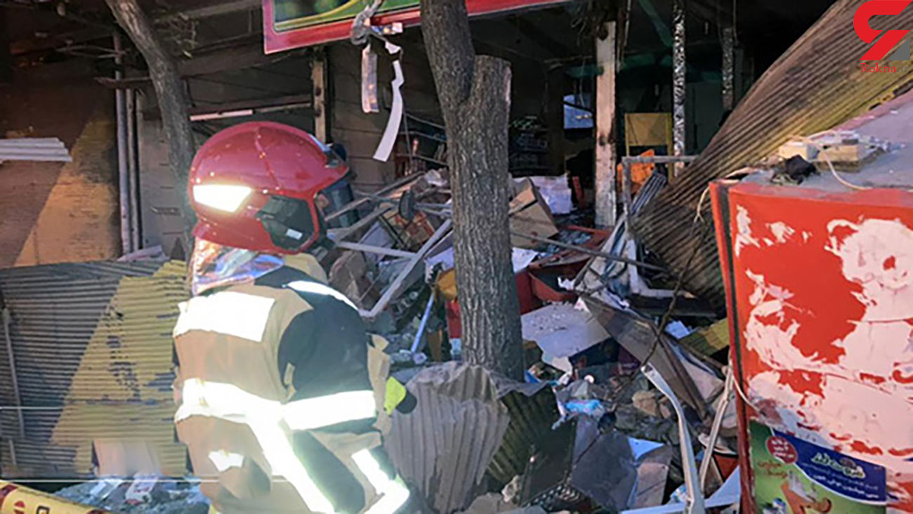 انفجار مهیب در قزوین/ تخریب چند ملک تجاری و یک خانه