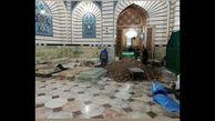 آماده سازی محل خاکسپاری آیت الله هاشمی شاهرودی در حرم حضرت معصومه(س)+عکس