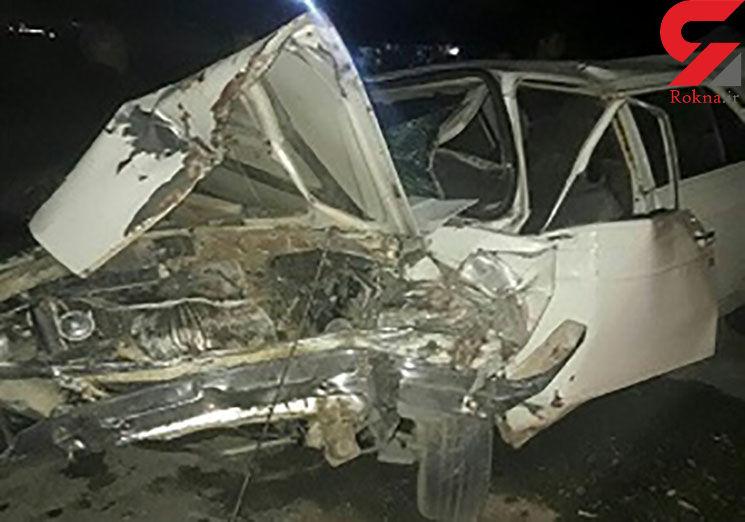 تصادف عجیب پیکان با درخت 9 قربانی گرفت +عکس