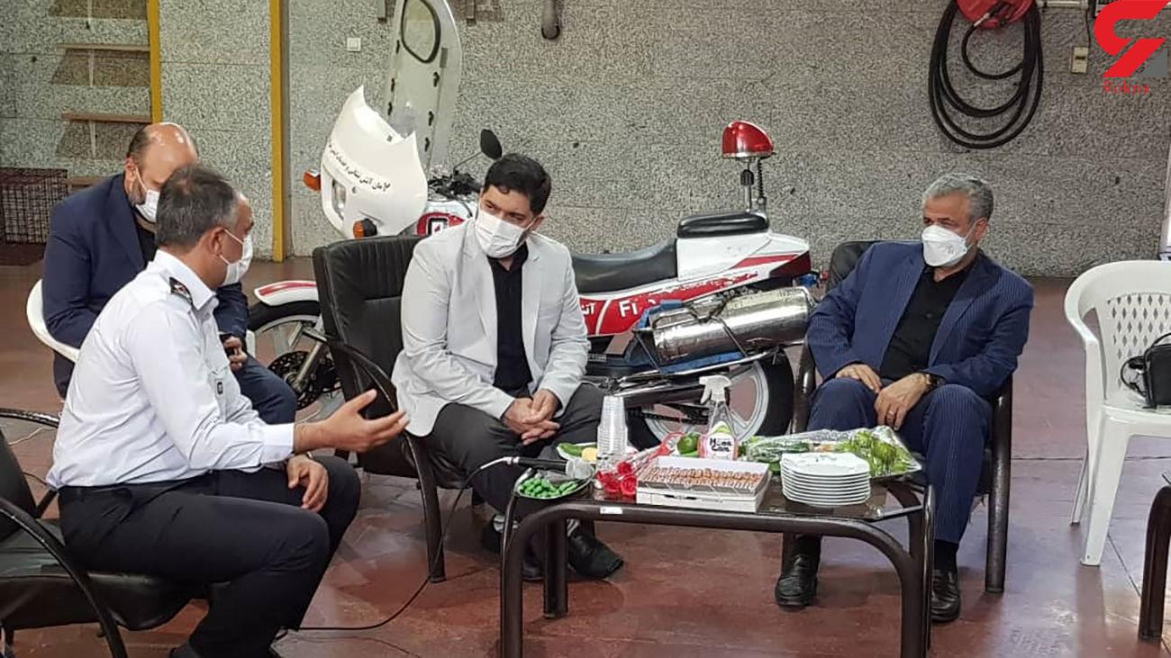 شورای شهر تهران پیگیر مطالبات آتش نشانان است