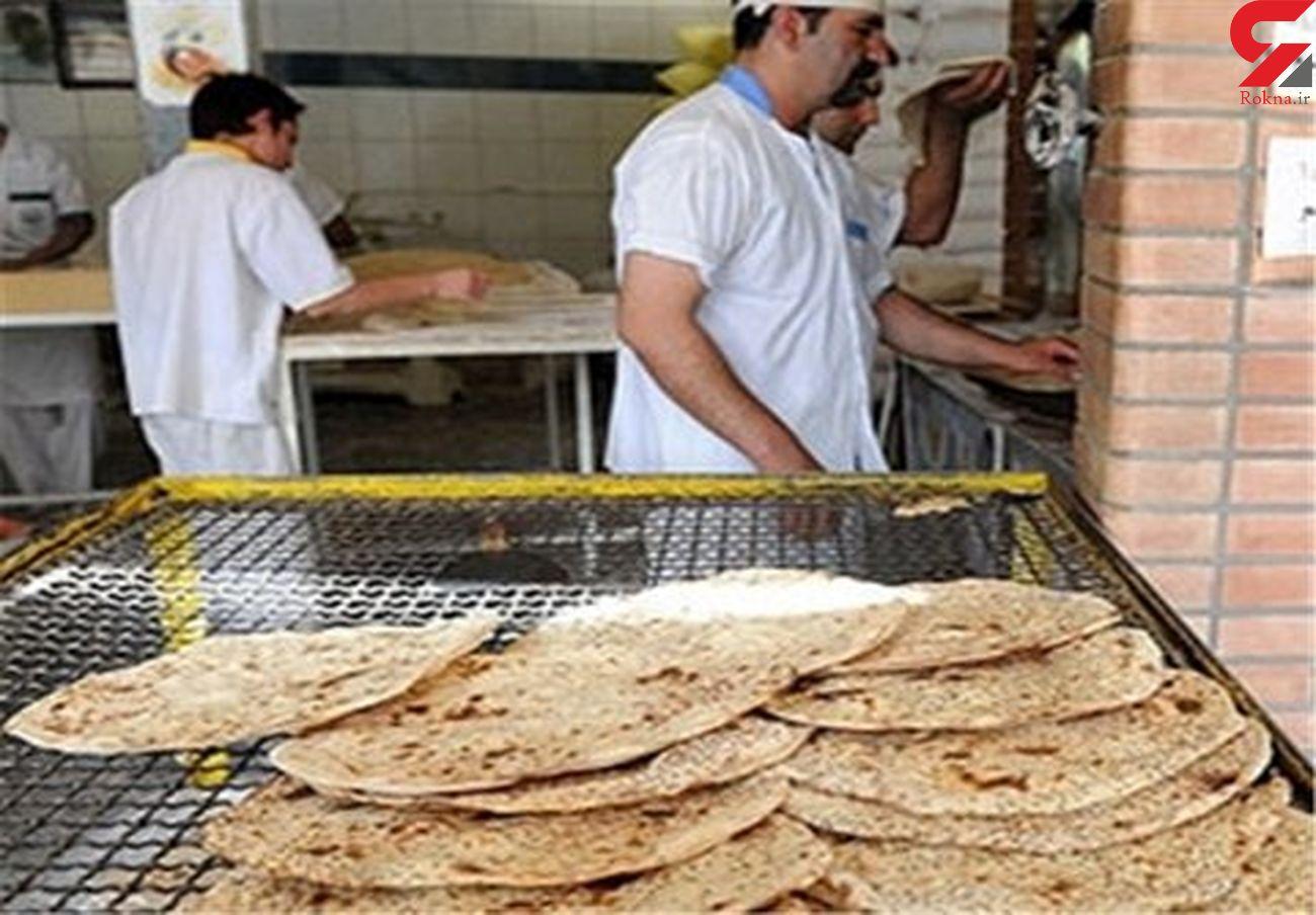 هزینههای نانواییهای بندرعباس ۱۰۰ تا ۷۰۰ درصد افزایش یافته است