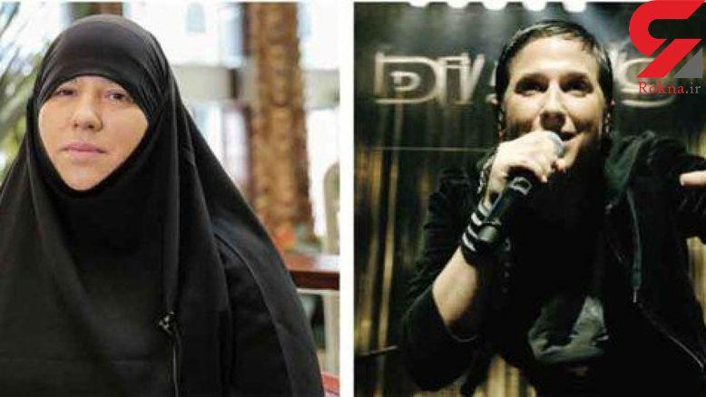خانوم خواننده رپ مسلمان شد + عکس