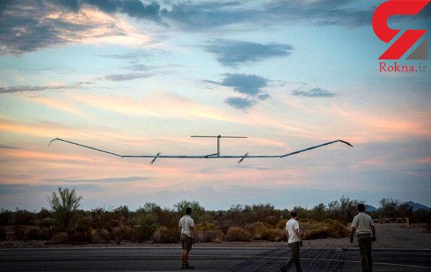 پهپاد خورشیدی با ۲۵ روز پرواز رکورد زد